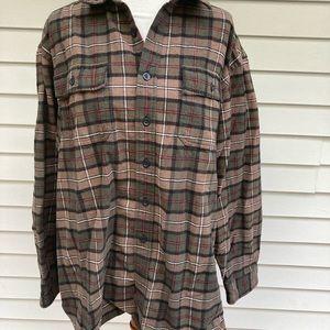LL Bean flannel shirt XL